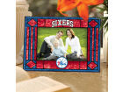 Philadelphia 76ers Art Glass Picture Frame Bed & Bath