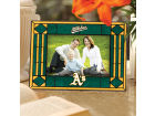 Oakland Athletics Art Glass Picture Frame Bed & Bath