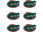 Florida Gators NCAA 6 Pack Decals Bumper Stickers & Decals