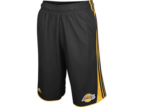 Los Angeles Lakers adidas NBA 3-Stripe Short