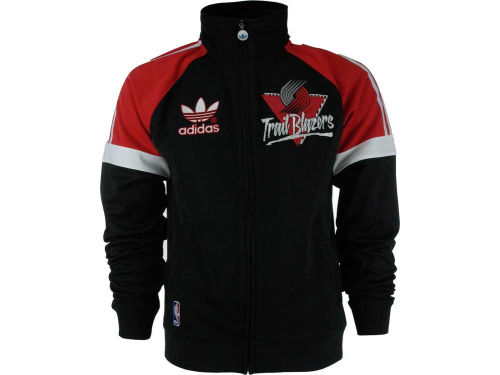 Portland Trail Blazers adidas NBA Court Series Track Jacket