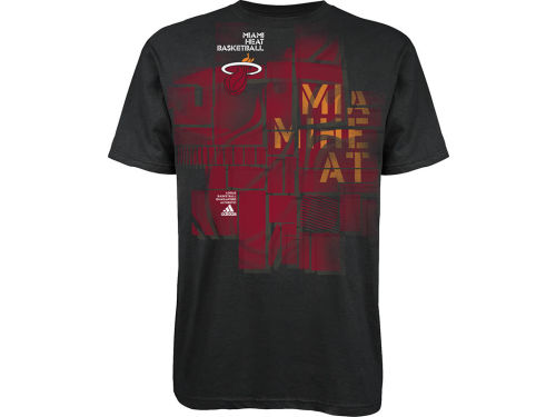 Miami Heat adidas NBA Hoop It T-Shirt
