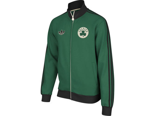 Boston Celtics adidas NBA OG Fleece Track Jacket