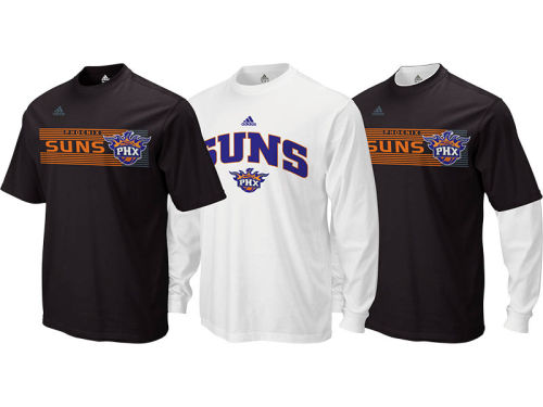 Phoenix Suns adidas NBA Showtime 3-In-1 T-Shirt