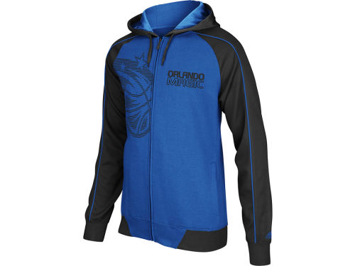 Orlando Magic adidas NBA Showtime Full Zip Hoodie