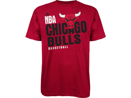 Chicago Bulls adidas NBA Stacked Extreme T-Shirt