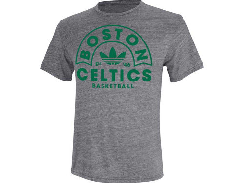 Boston Celtics adidas NBA Trefoil Recreation Triblend T-Shirt