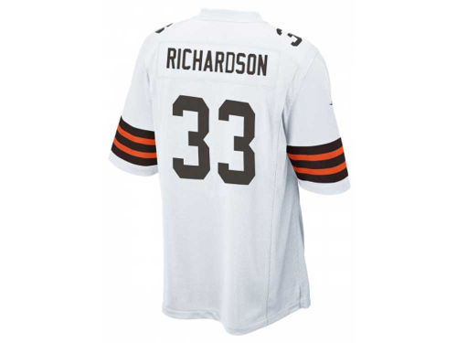 Cleveland Browns Trent Richardson Nike NFL Men's Game Jersey