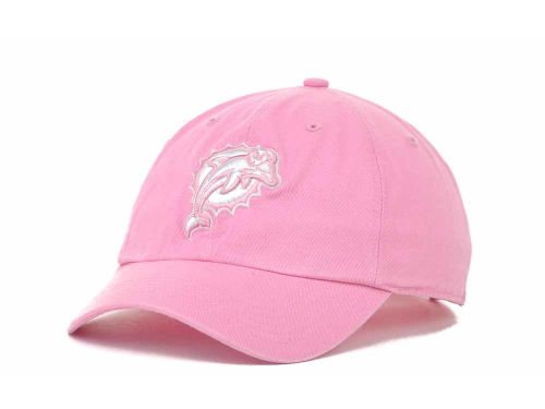 Miami Dolphins '47 Brand NFL Womens Clean Up Cap Hats