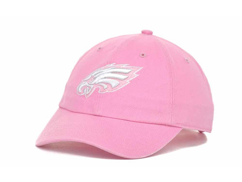 Philadelphia Eagles '47 Brand NFL Womens Clean Up Cap Hats