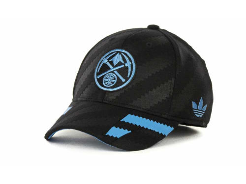 Denver Nuggets adidas NBA Groove Flex Cap Hats