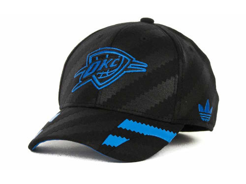 Oklahoma City Thunder adidas NBA Groove Flex Cap Hats
