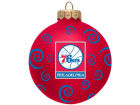 Philadelphia 76ers Team Color Swirl Ornament 3
