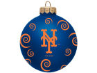 New York Mets Team Color Swirl Ornament 3
