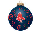 Boston Red Sox Team Color Swirl Ornament 3