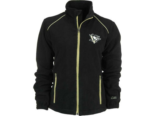 Pittsburgh Penguins GIII NHL Womens Alpine Full Zip Jacket