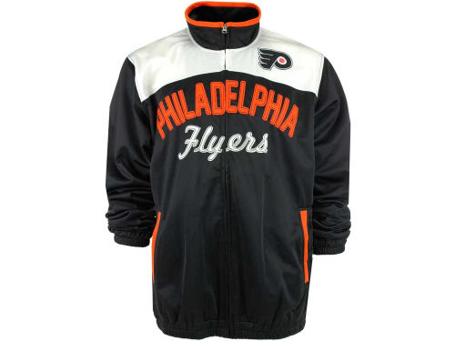Philadelphia Flyers GIII NHL MVP Track Jacket