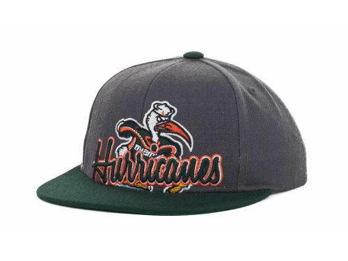 Miami Hurricanes Top of the World NCAA Cosigner Youth Snapback Cap Hats