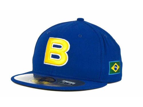 Brazil New Era 2013 World Baseball Classic 59FIFTY Cap Hats