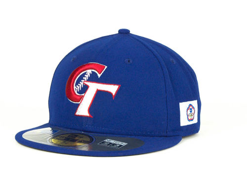 Chinese Taipei New Era 2013 World Baseball Classic 59FIFTY Cap Hats