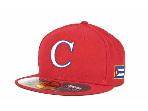 Cuba New Era 2013 World Baseball Classic 59FIFTY Cap Hats
