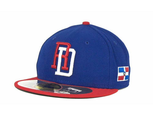 Dominican Republic New Era 2013 World Baseball Classic 59FIFTY Cap Hats