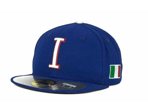 Italy New Era 2013 World Baseball Classic 59FIFTY Cap Hats