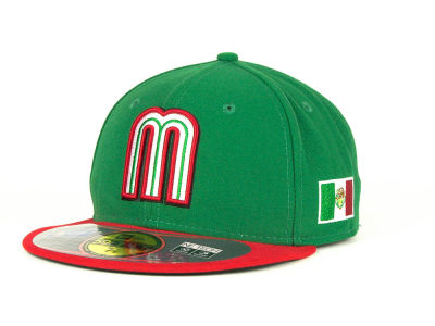 Mexico 2013 World Baseball Classic 59FIFTY Cap Hats
