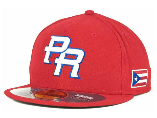 Puerto Rico New Era 2013 World Baseball Classic 59FIFTY Cap Hats