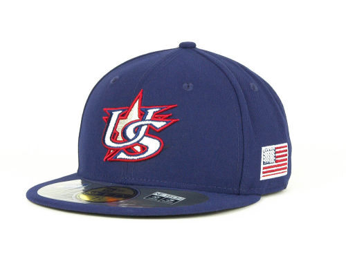 USA New Era 2013 World Baseball Classic 59FIFTY Cap Hats