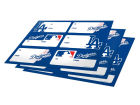 Los Angeles Dodgers Gift Sticker Home Office & School Supplies