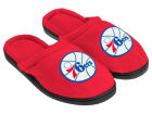 Philadelphia 76ers Cupped Sole Slippers Apparel & Accessories