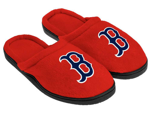 Boston Red Sox Forever Collectibles Cupped Sole Slippers