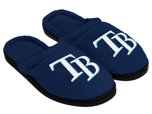 Tampa Bay Rays Forever Collectibles Cupped Sole Slippers