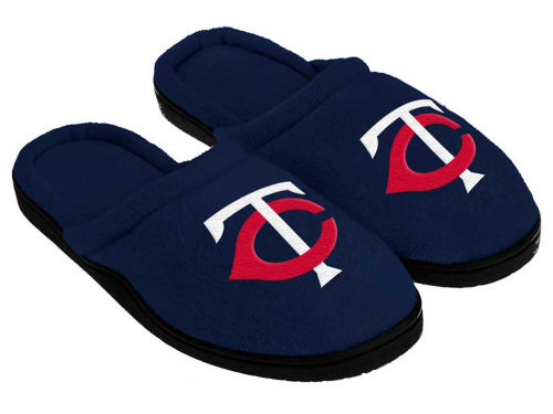 Minnesota Twins Cupped Sole Slippers