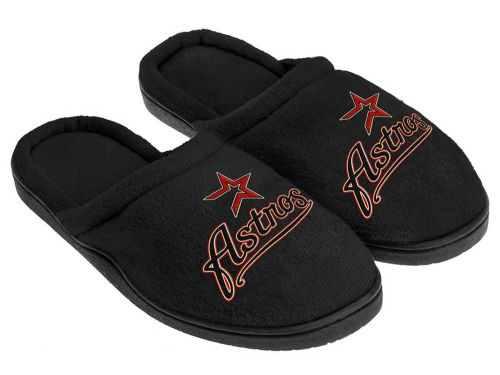 Houston Astros Cupped Sole Slippers