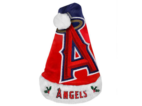 Los Angeles Angels of Anaheim Forever Collectibles Team Logo Santa Hat