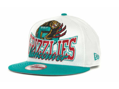Vancouver Grizzlies NBA Hardwood Classics Up & Under Snapback 9FIFTY Cap Hats