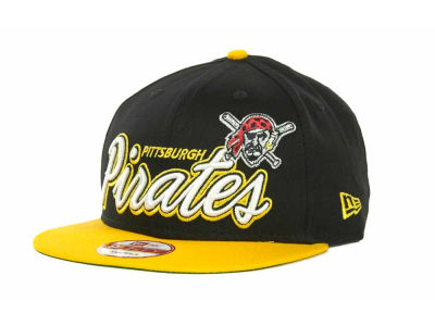 Pittsburgh Pirates MLB Double Script Snapback 9FIFTY Cap Hats
