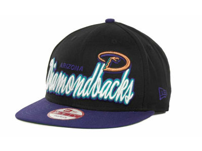 Arizona Diamondbacks MLB Double Script Snapback 9FIFTY Cap Hats