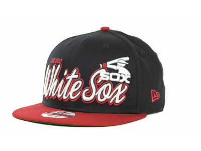 Chicago White Sox MLB Double Script Snapback 9FIFTY Cap Hats