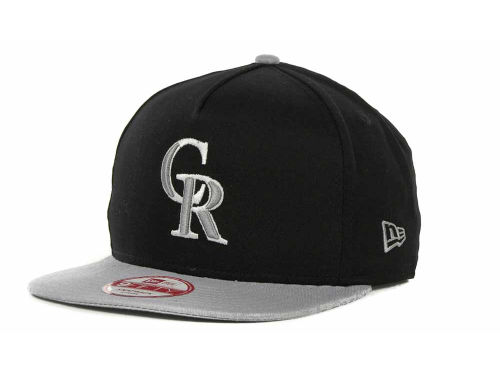 Colorado Rockies New Era MLB Frame It Snapback 9FIFTY Cap Hats