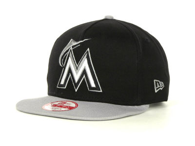 Miami Marlins MLB Frame It Snapback 9FIFTY Cap Hats