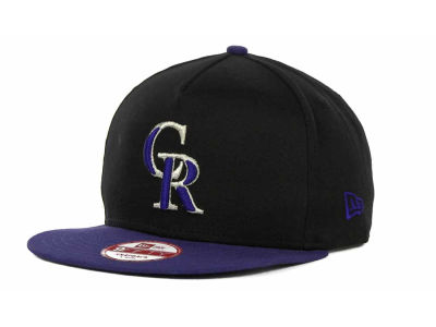 Colorado Rockies MLB Frame It Snapback 9FIFTY Cap Hats