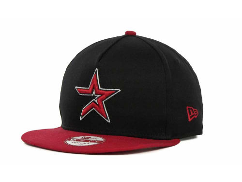 Houston Astros New Era MLB Frame It Snapback 9FIFTY Cap Hats