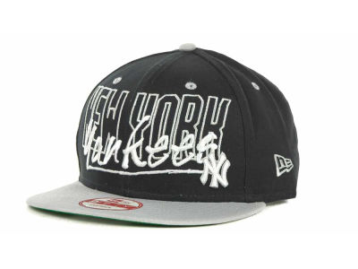 New York Yankees MLB Snap Block Snapback 9FIFTY Cap Hats