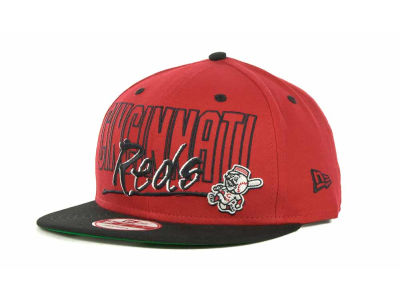 Cincinnati Reds MLB Snap Block Snapback 9FIFTY Cap Hats
