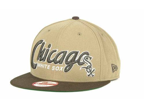 Chicago White Sox New Era MLB Pull It Back 9FIFTY Strapback Cap Hats