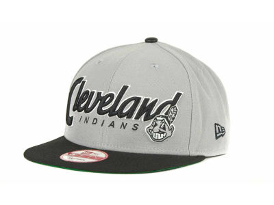 Cleveland Indians MLB Pull It Back 9FIFTY Strapback Cap Hats