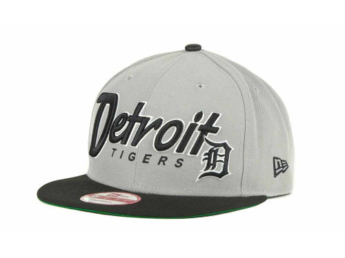 Detroit Tigers New Era MLB Pull It Back 9FIFTY Strapback Cap Hats